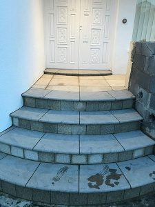 New Stonework - After