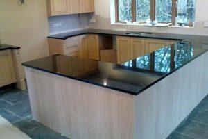 Devon stone mason - granite worktop fitting and installation