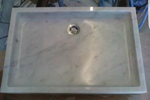 Devon stone masons - marble shower tray fitting and installation