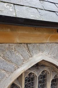 Repair of Damaged Church Stonework